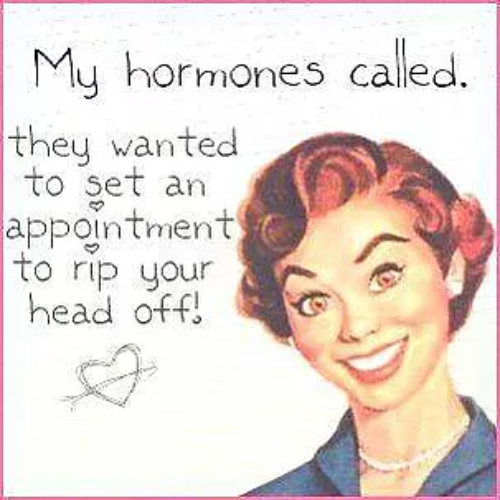 A Hormone Induced Rant Comin' Atcha…(warning…loads of swearing :)